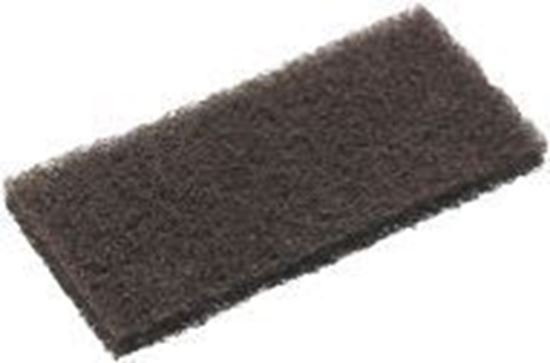 Picture of SCRUB PAD (EAGER BEAVER STRIPPING PAD) (BROWN)