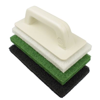 Picture of SCRUB PAD KIT (VELCRO HANDLE & 3 SCRUBS)