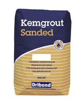 Picture of KEMGROUT MID GREY SANDED (20KG)